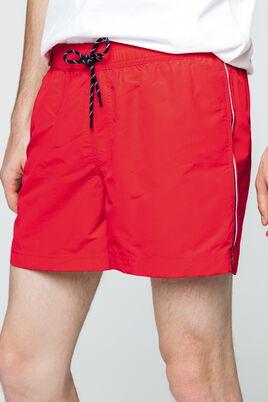 Short de bain bandes bleu blanc rouge