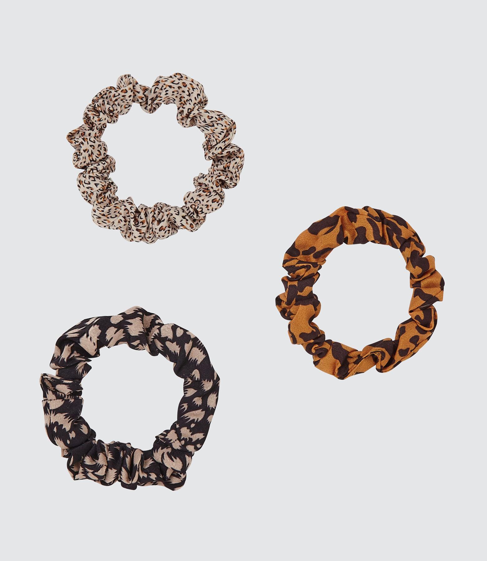 Lot de 3 Chouchous léopard