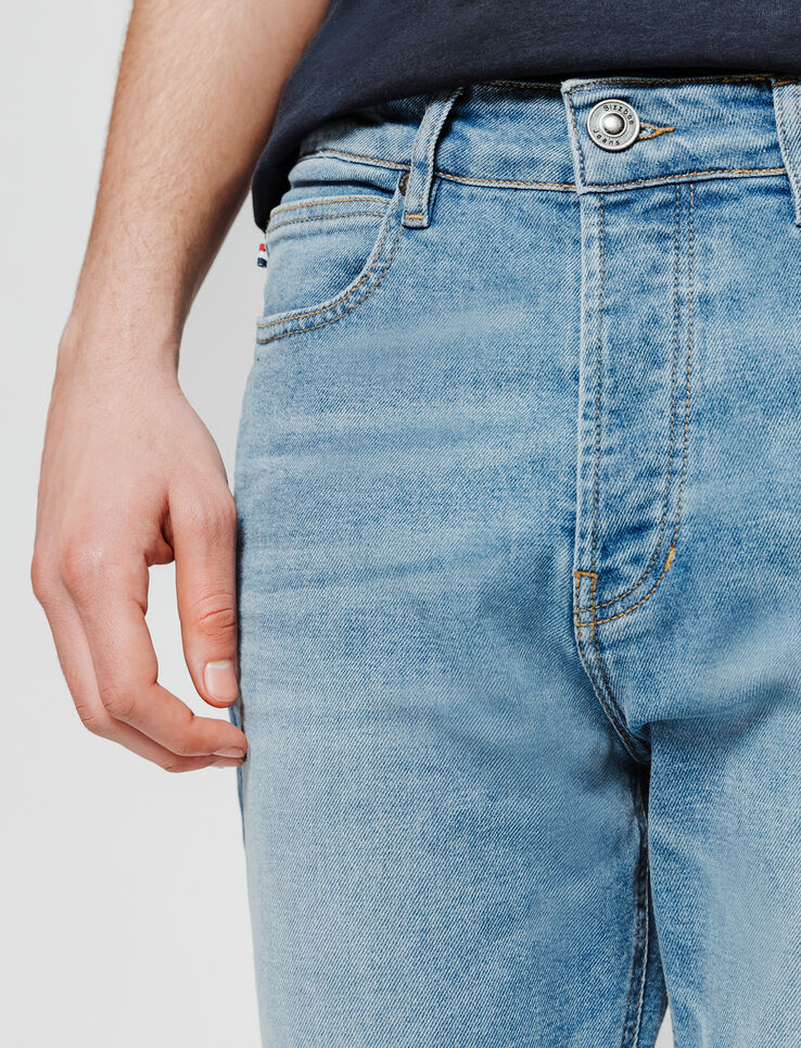 Jean straight cropped tapered
