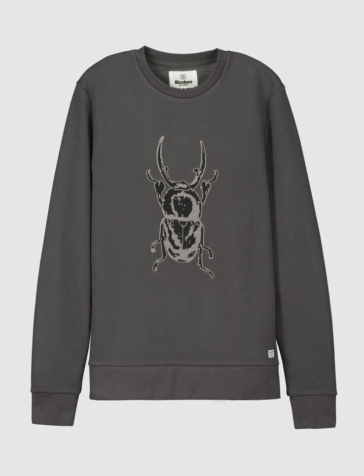 Sweat broderie insecte