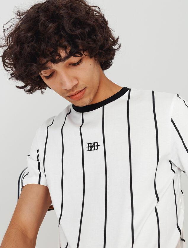 T-shirt rayures verticales BZB