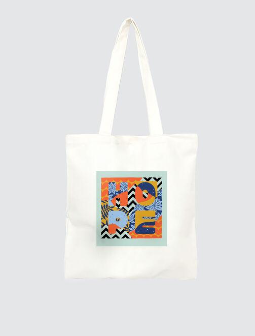 "Tote Bag ""HOPE"" Seb Toussaint tendances"