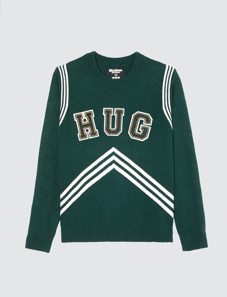 "Pull à message ""HUG"""