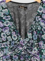 Robe en Voile Imprimée Polyester recyclé