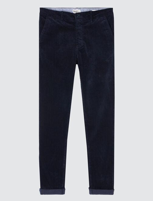 Pantalon en velours homme