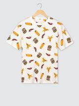 "T-shirt imprimé ""Food"""