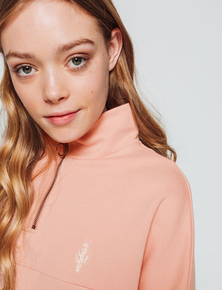 Sweat zippé sportif