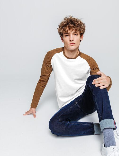 T-shirt manches longues, raglan homme