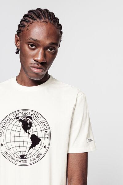 "T-shirt ""National geographic"" en coton BIO"