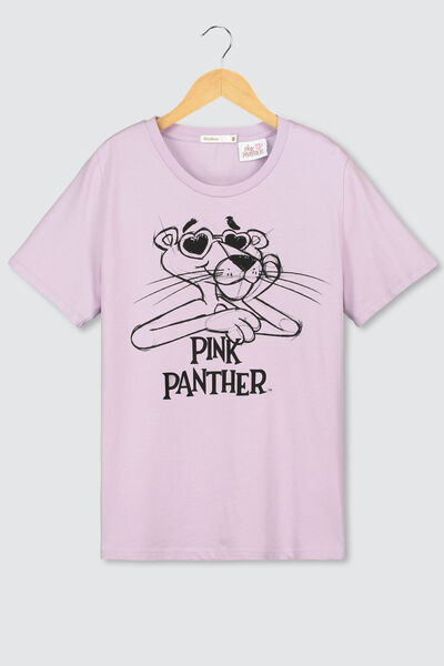 T-shirt licence PINK PANTHERE