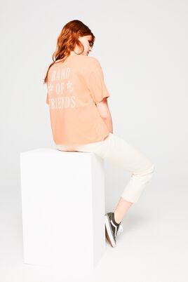 T-shirt imprimé en coton IAB