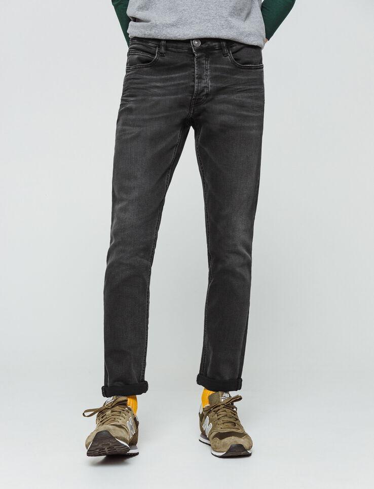 Jean slim gris foncé