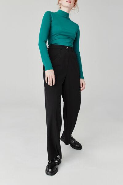 Pantalon à pinces polyester recyclé