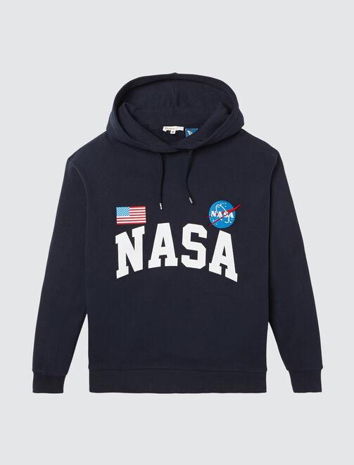 Sweat capuche NASA femme