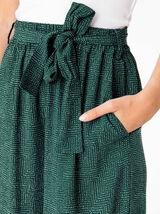 Pantalon Fluide à pois