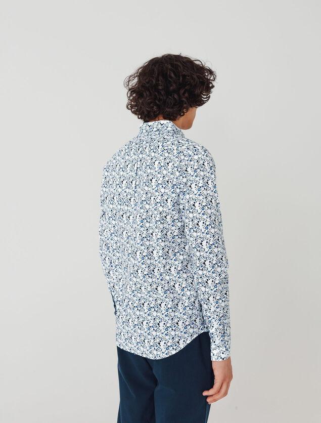 Chemise imprimée à fleurs