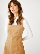 Robe Courte Velours Coton Bio