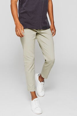 Pantalon slim tapered couleur