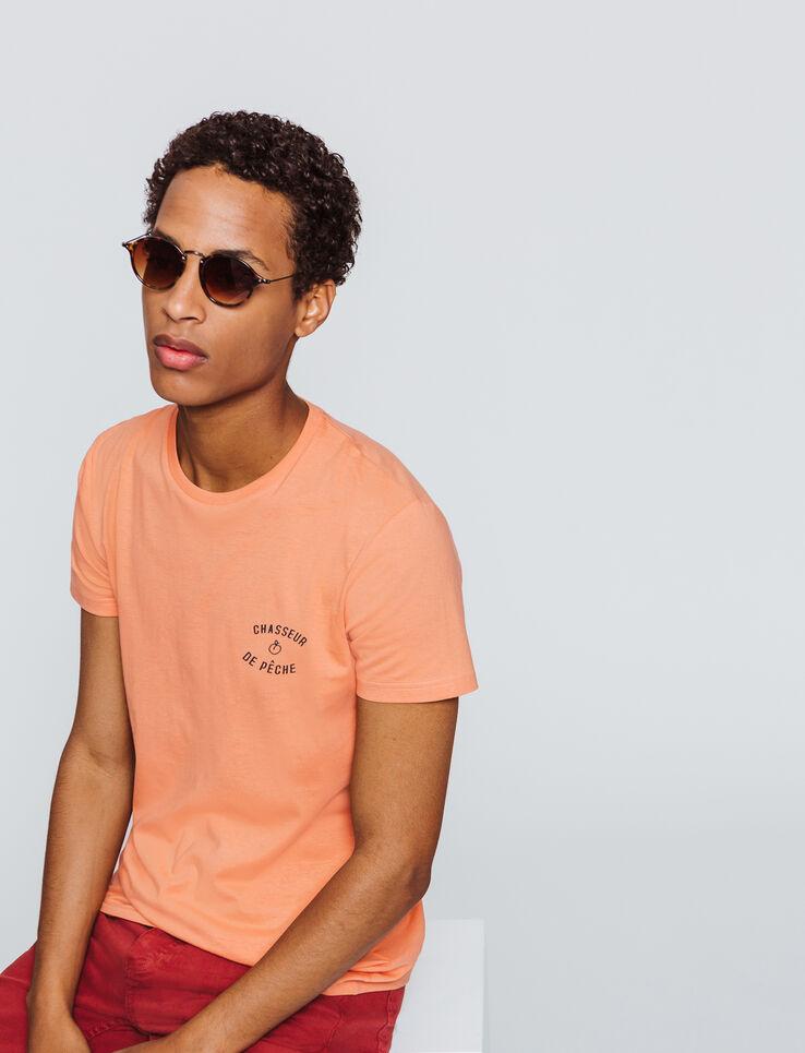 """T-shirt message """"Chasseur de pêche"""""""