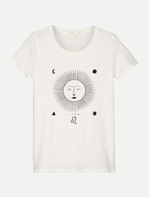 T-shirt Astro Lion femme