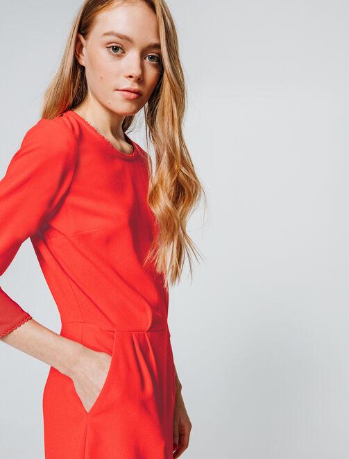 Combi-short uni femme