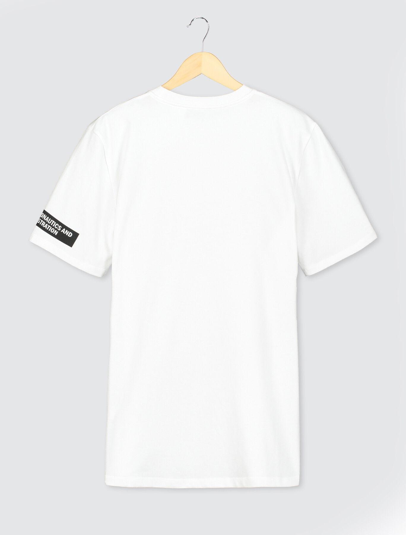 """T-shirt imprimé réfléchissant """"Nasa"""""""