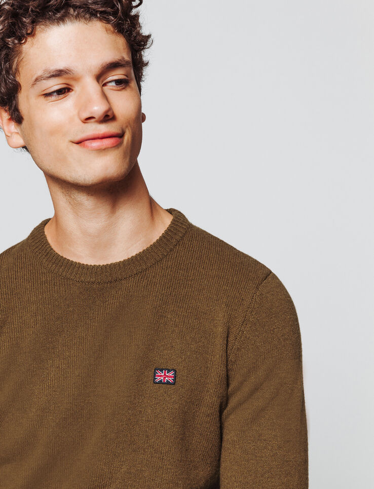 Pull col rond lambswool