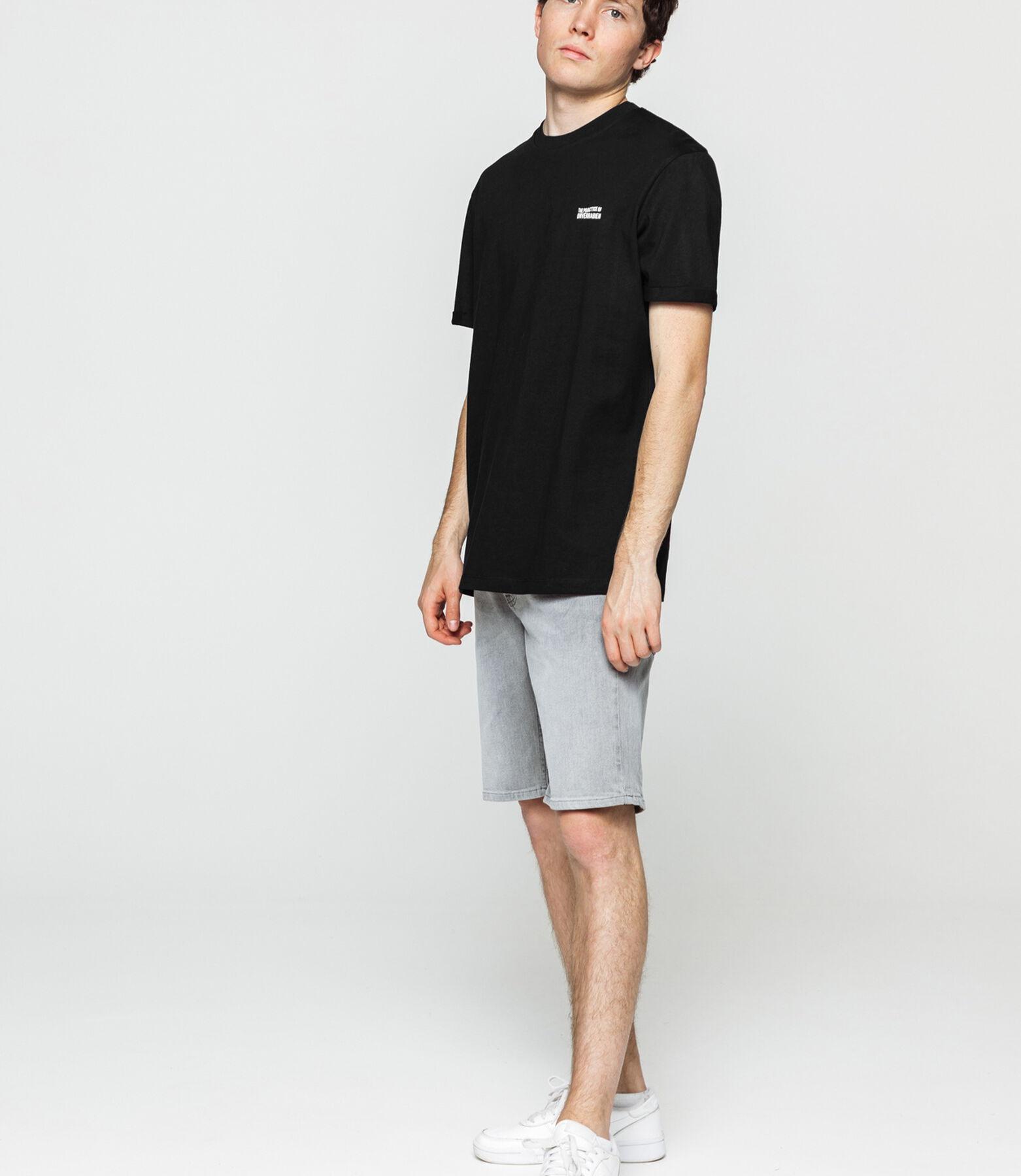 T-shirt loose print devant dos