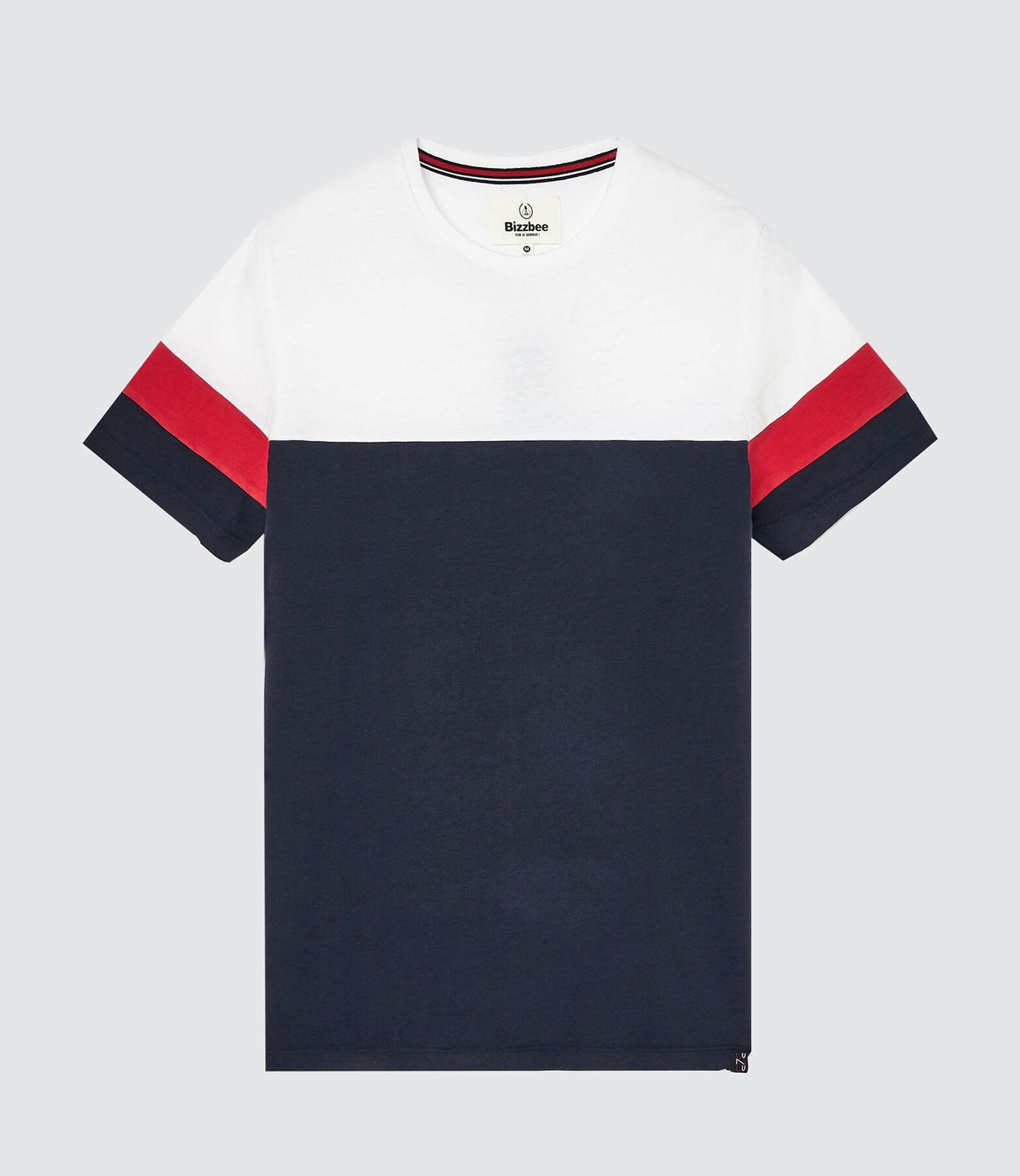 T-shirt avec découpes manches
