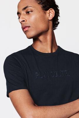 "T-shirt à message ""Plan Culte"" issu de l'agricultu"