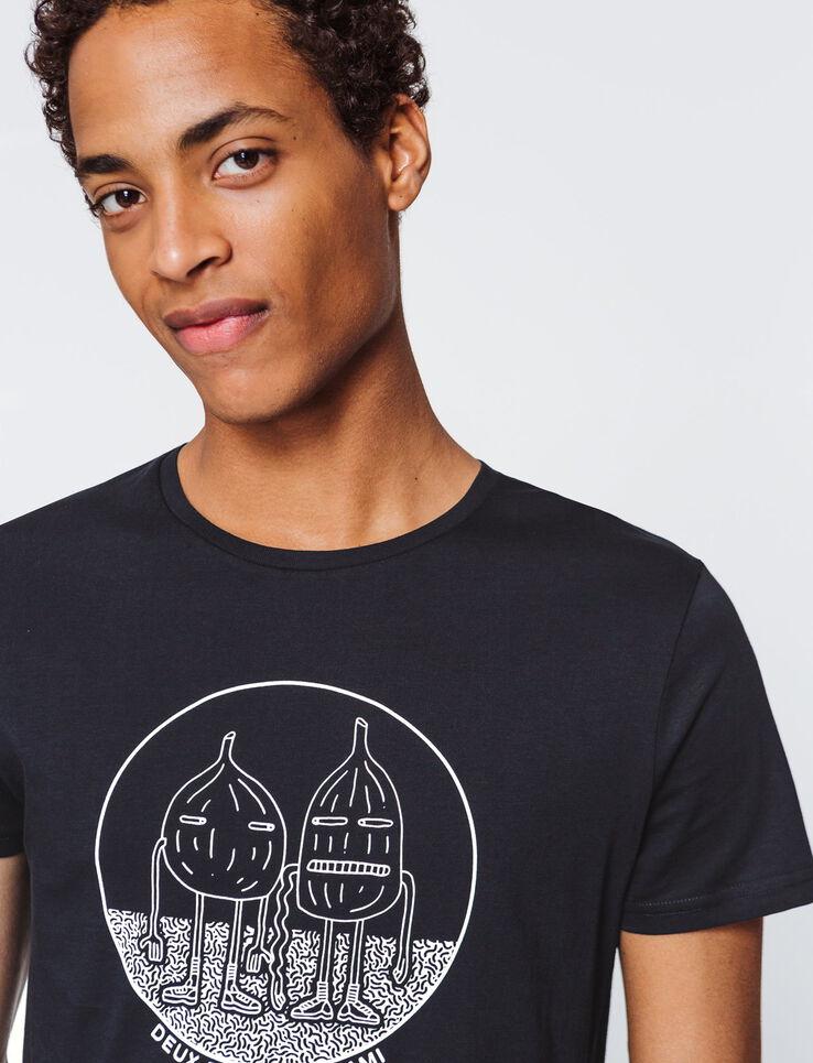 """T-shirt message """"Deux figues a Miami"""""""