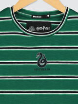 T-shirt à rayures Serpentard