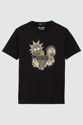 T-shirt Licence Rick et Morty