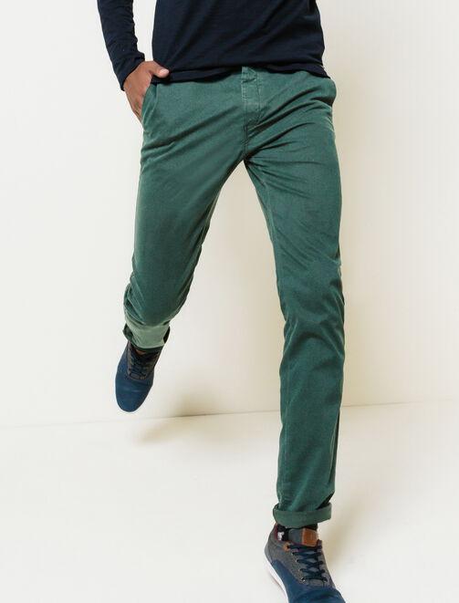 Pantalon chino classique homme