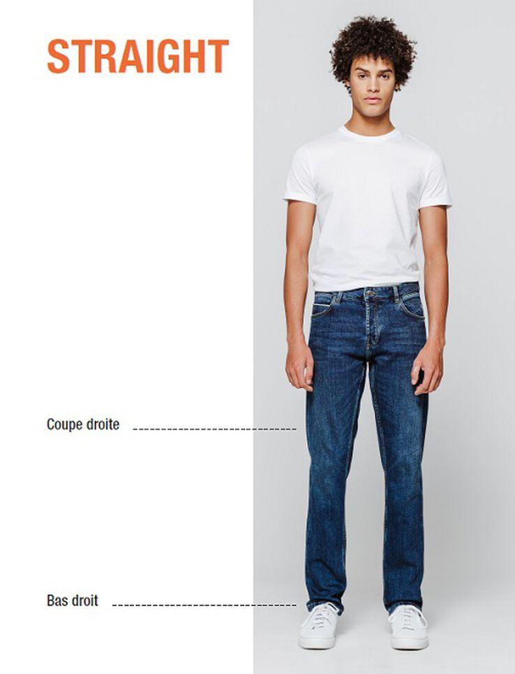 Jean straight brut
