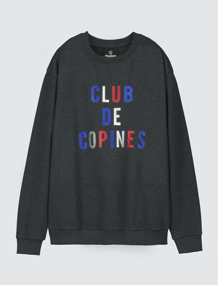 """Sweat à message """" CLUB DE COPINES"""""""