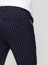 Pantalon de ville rayé