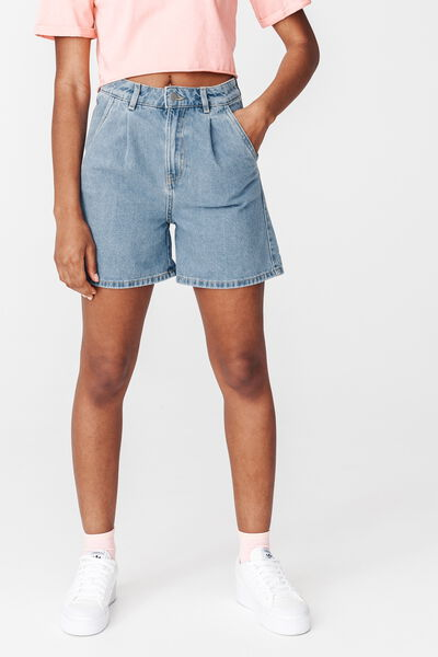 Short Mom fit en Jean