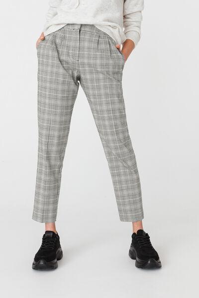 Pantalon Coordonné Carreaux