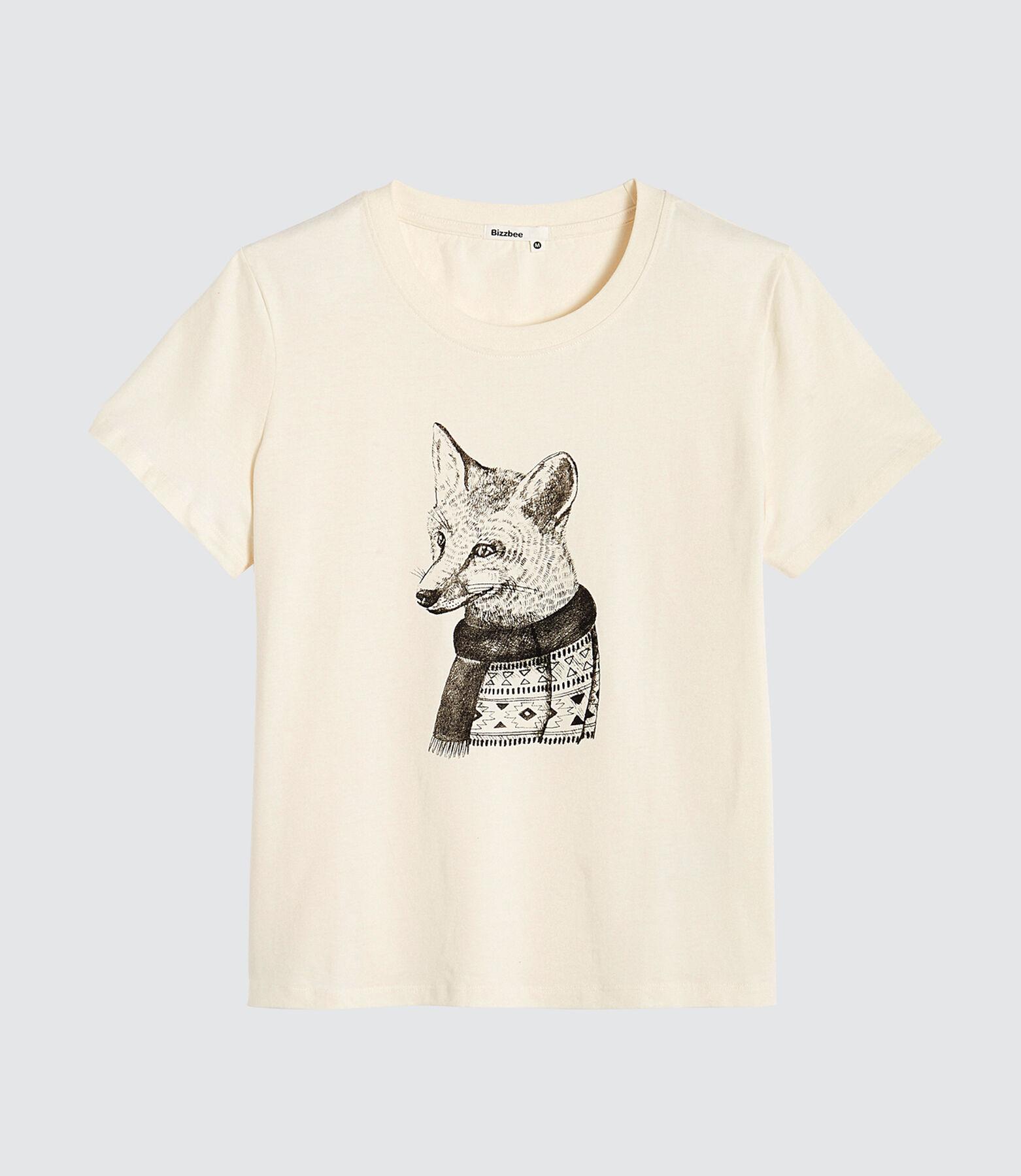 T-shirt fantaisie renard
