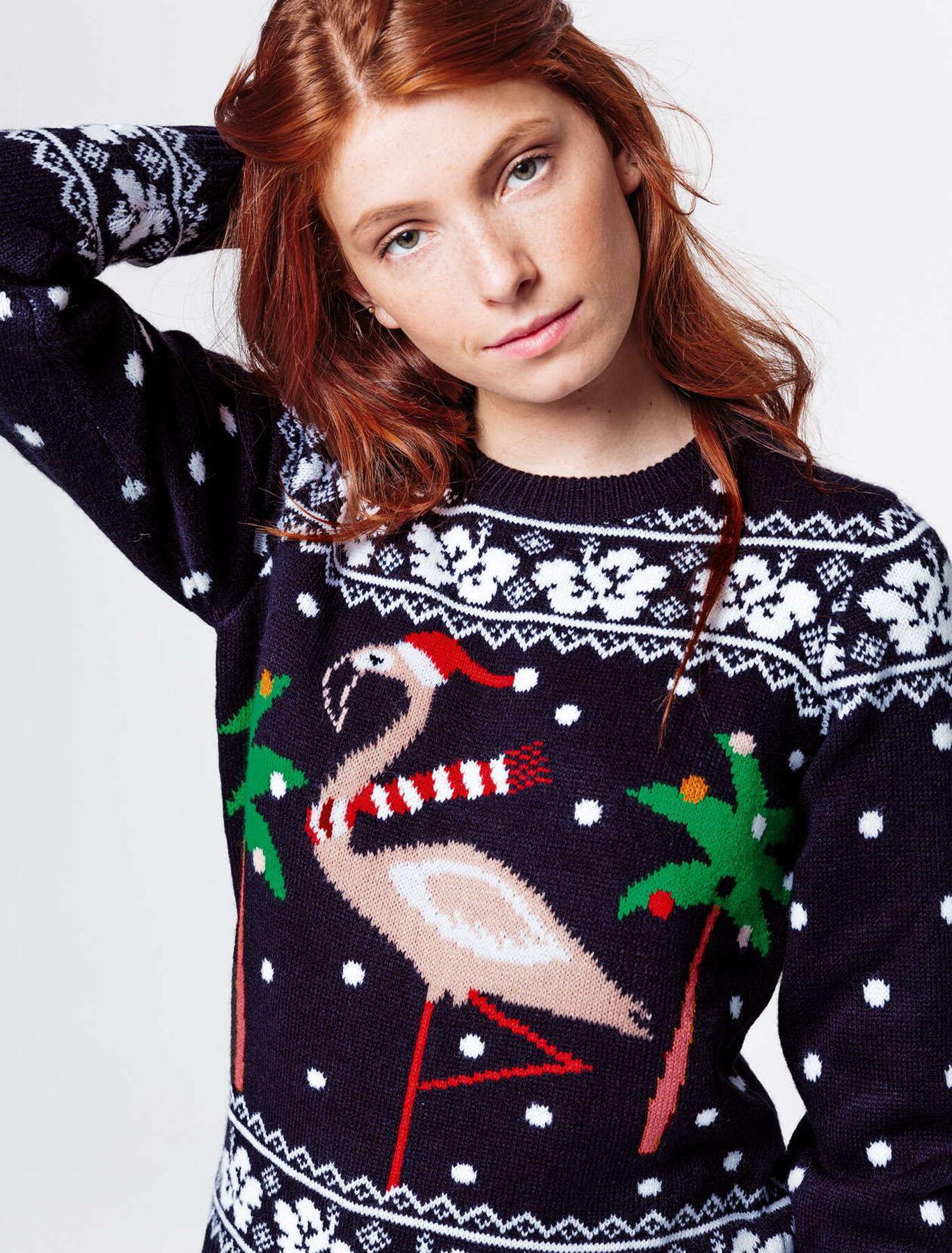 Pull jacquard de Noël