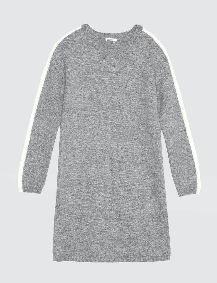 Robe pull bande côté