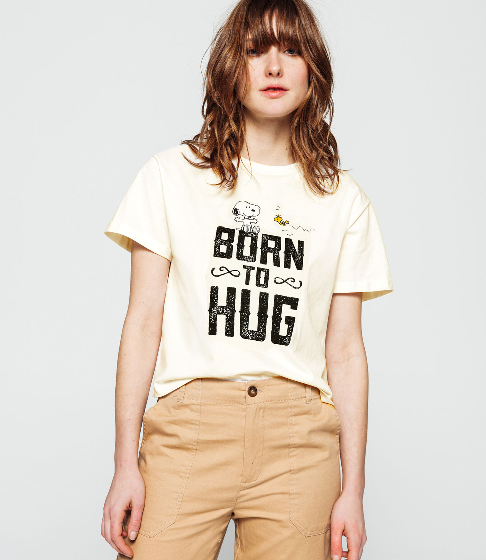 T-shirt licence Snoopy esprit western