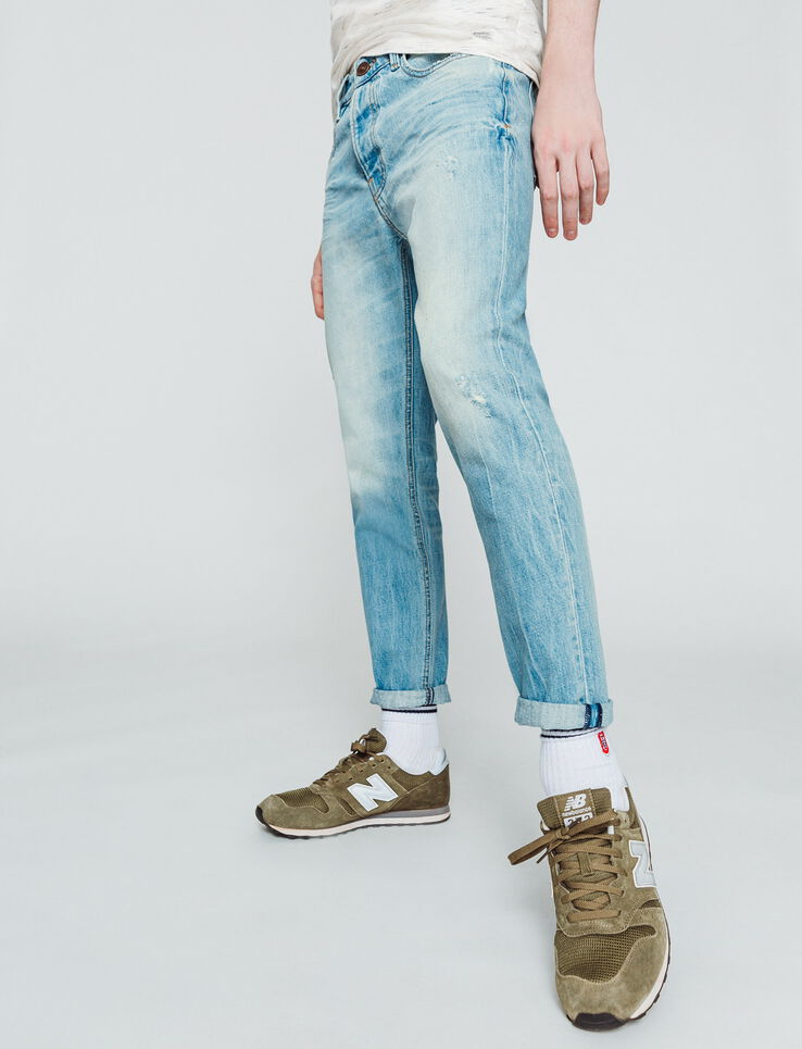Jean slim cropped tapered
