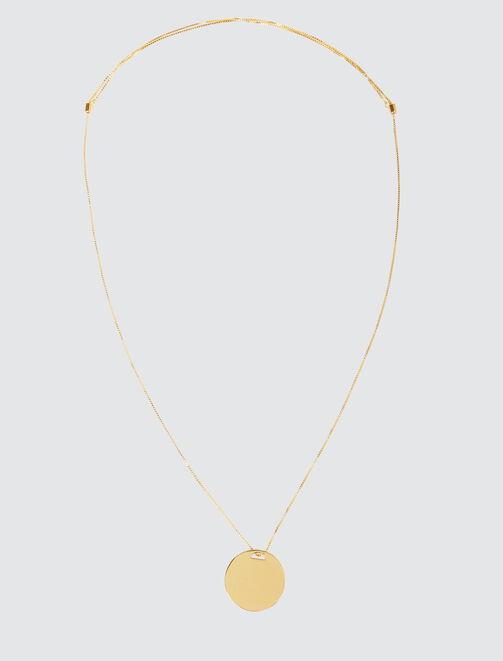Collier Sautoir Médaille  femme
