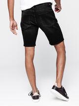 Bermuda en jean noir