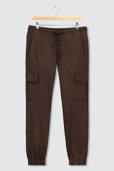 Pantalon Jogger cargo en coton bio