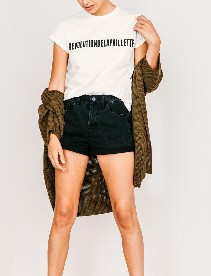 """T-shirt """"Révolution de la paillette"""""""