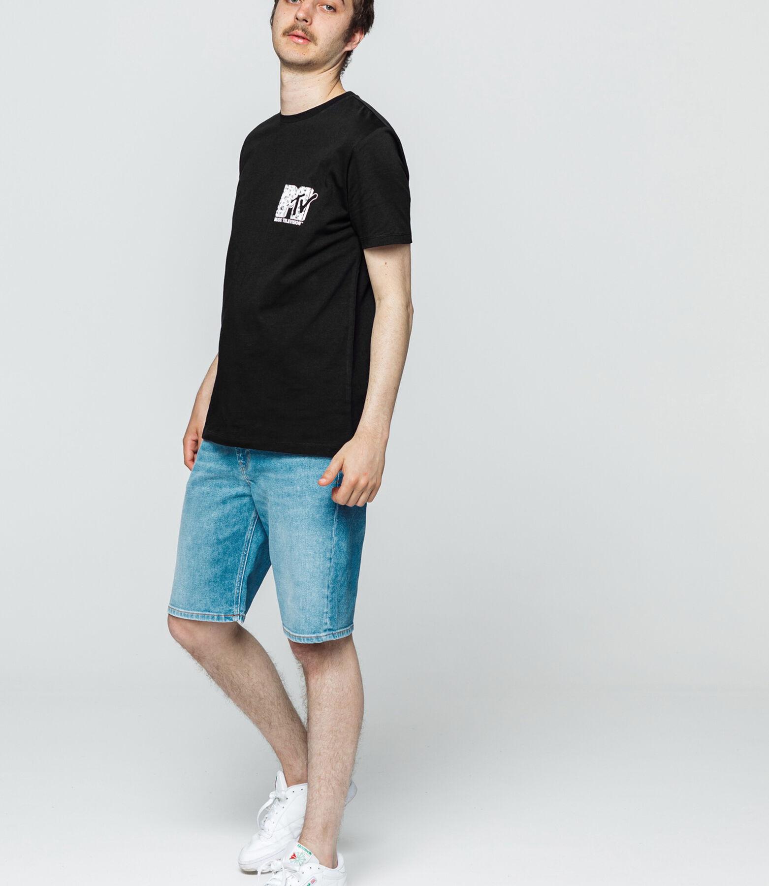 T-shirt avec print MTV devant dos