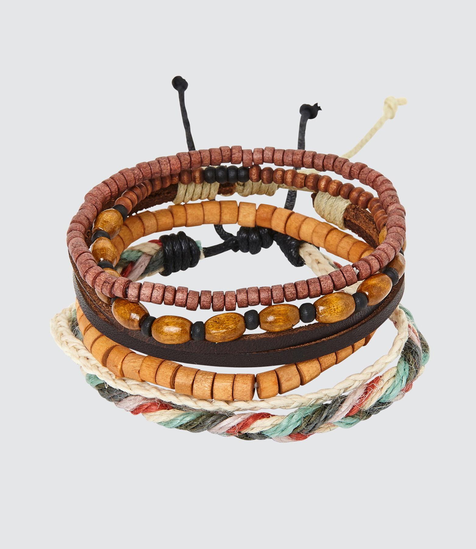 Set de bracelets camel